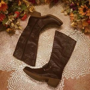 💼Apepazza Knee High Leather Boots
